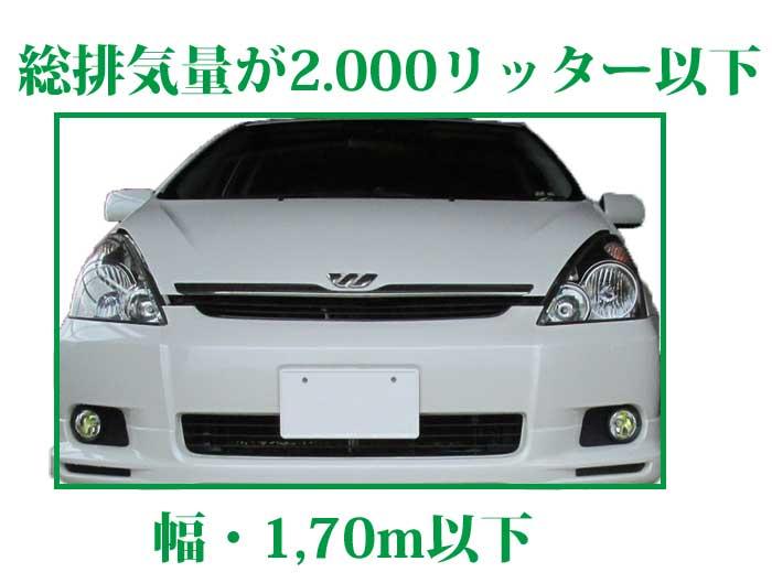 小型自動車の規格幅イメージ画像